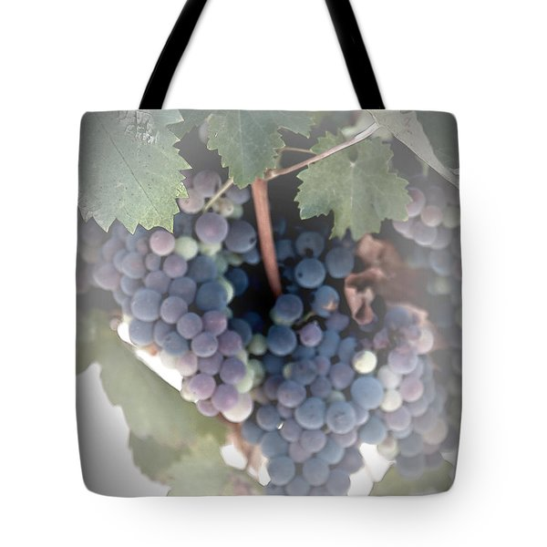 Grapes On The Vine I Tote Bag by Sherry Hallemeier