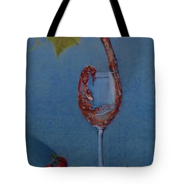 Grapes To Wine Tote Bag