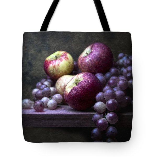 Grapes With Apples Tote Bag by Tom Mc Nemar