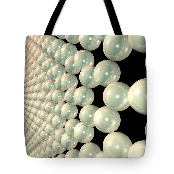 Graphene 6 Tote Bag by Russell Kightley