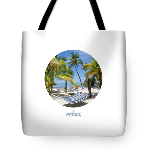 Graphic Art Relax Key West IIi Tote Bag