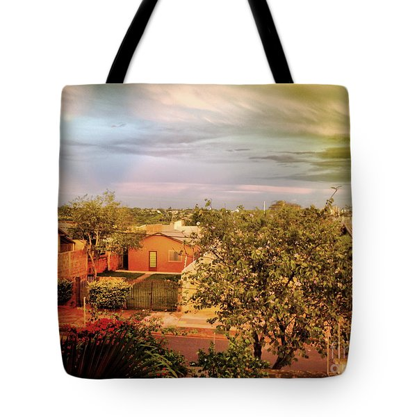 Tote Bag featuring the photograph Graphic City by Beto Machado