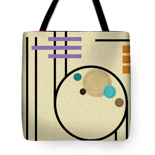 Graphics In The Sand Tote Bag by Tara Hutton