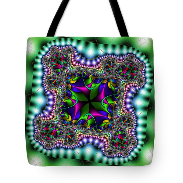 Tote Bag featuring the digital art Grapperana by Andrew Kotlinski