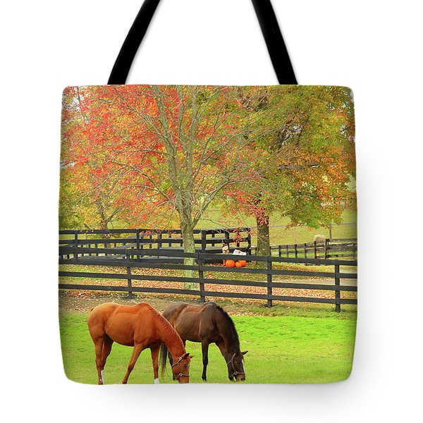 Grazing Time Tote Bag