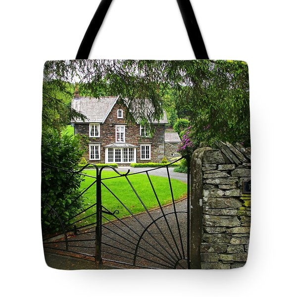 Grasmere House  6738 Tote Bag