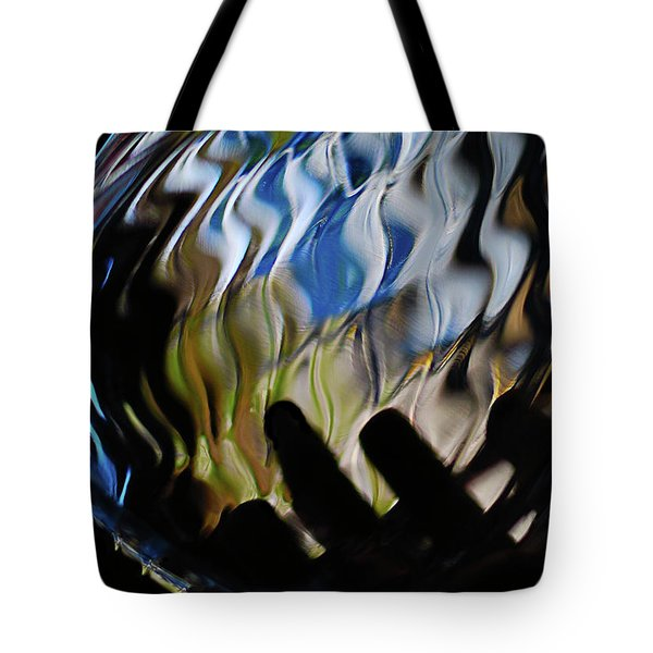 Tote Bag featuring the photograph Grasping At Curves by Susan Capuano
