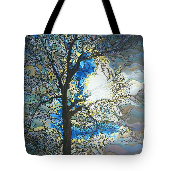 Grasping At Sunshine Tote Bag