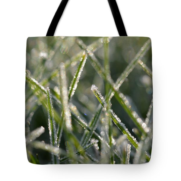Grass Bokeh Tote Bag