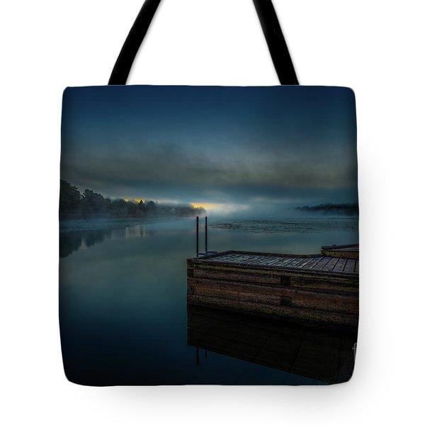 Grass Creek Sunrise 1 Tote Bag