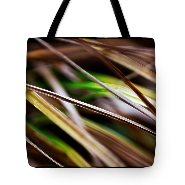 Tote Bag featuring the photograph Grass by Michaela Preston