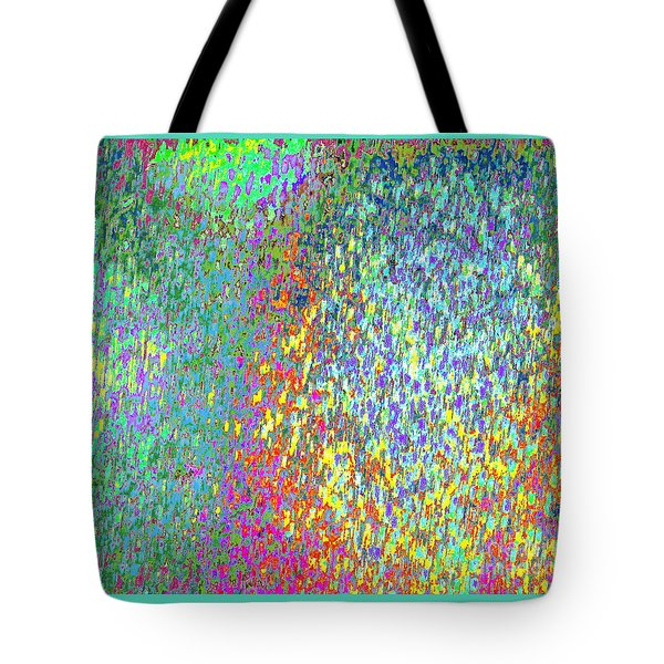 Grass On The Wall Tote Bag