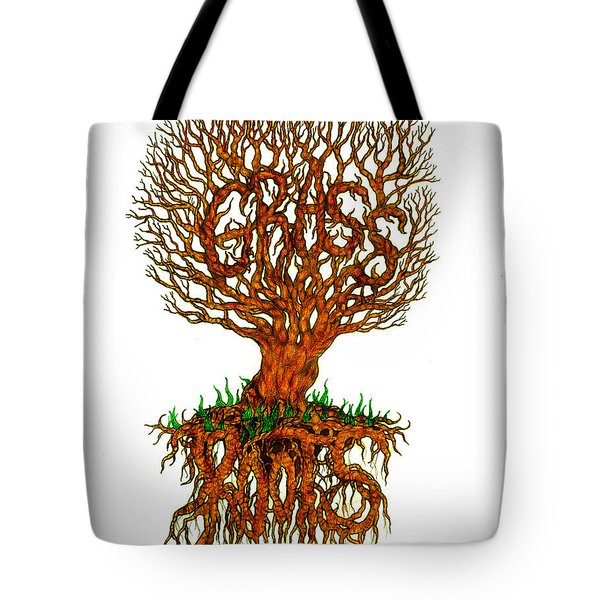Grass Roots Tote Bag