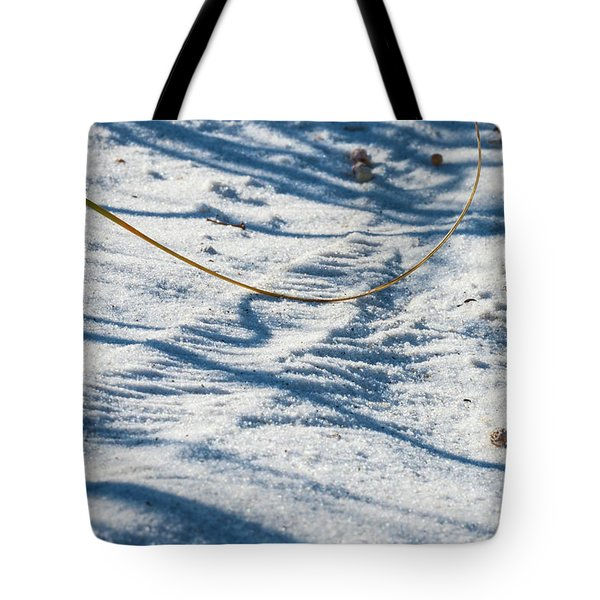 Grass Scapes In The Sand Tote Bag