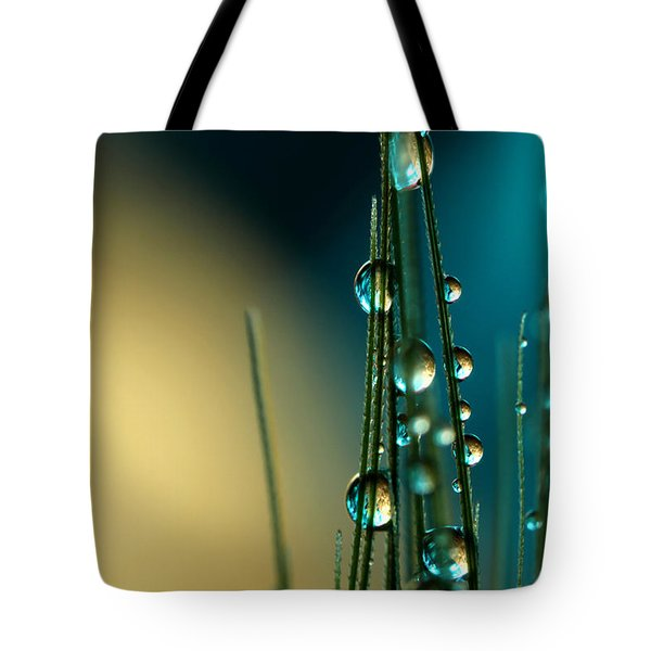Grass Seed With Blue Tote Bag