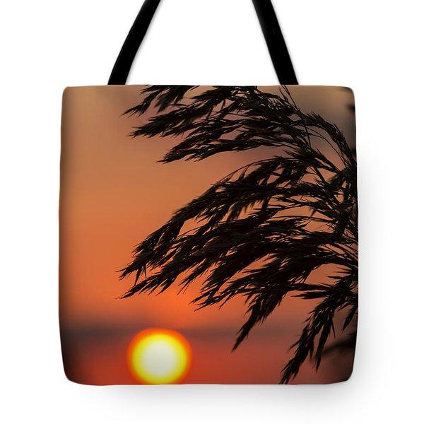 Grass Silhouette Tote Bag