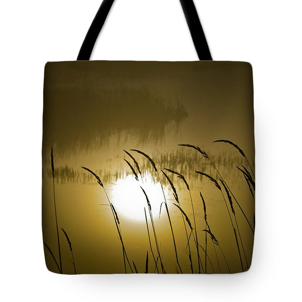 Grass Silhouettes Tote Bag
