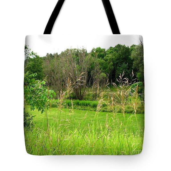 Swaying Grass Tote Bag