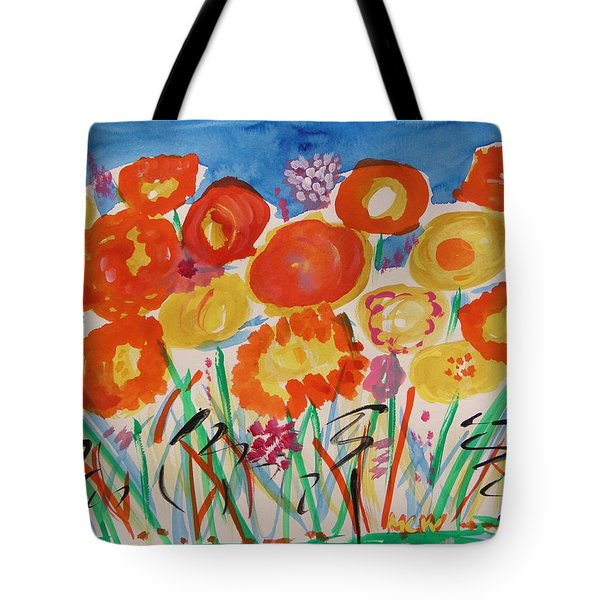 Grasses Can't Hide Tote Bag by Mary Carol Williams