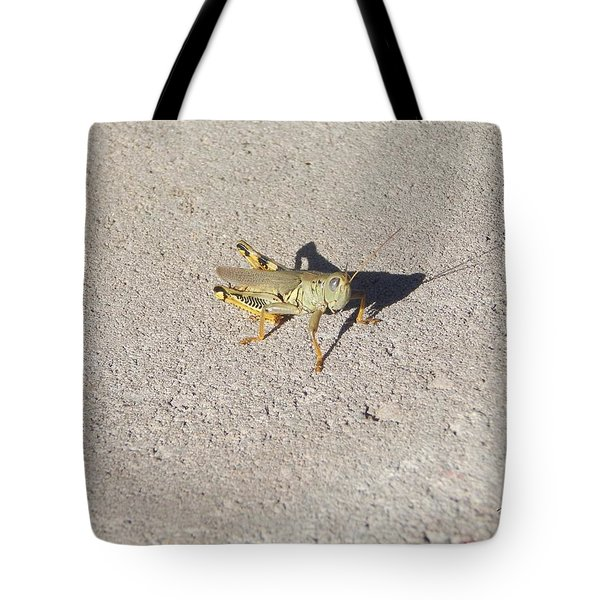 Grasshopper Curiosity Tote Bag