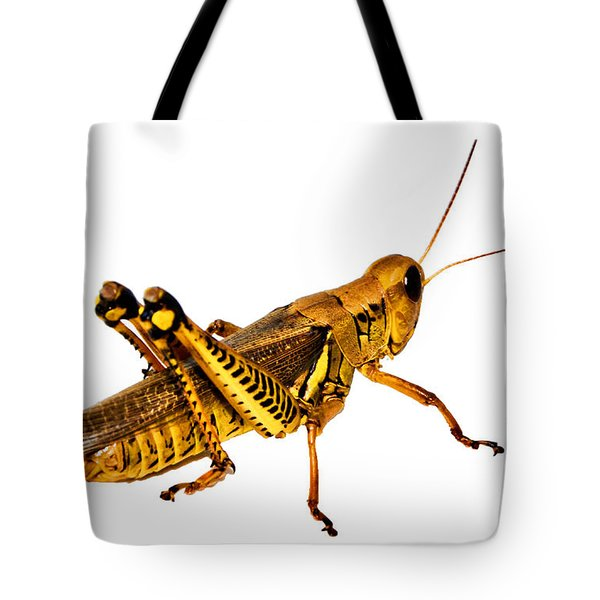 Grasshopper I Tote Bag by Gary Adkins