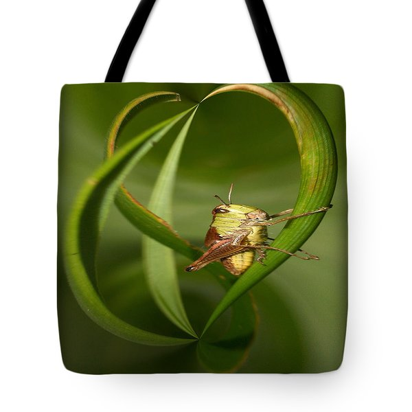 Grasshopper Tote Bag by Jouko Lehto