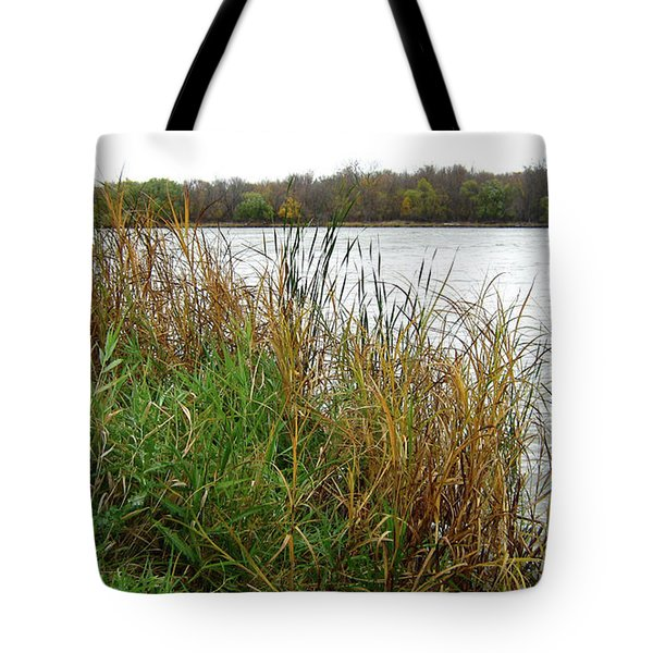 Grassy Bank Tote Bag