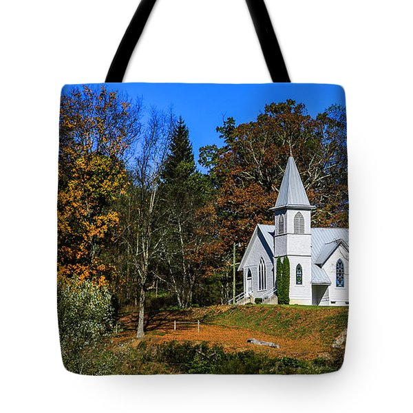 Grassy Creek Methodist Church Tote Bag