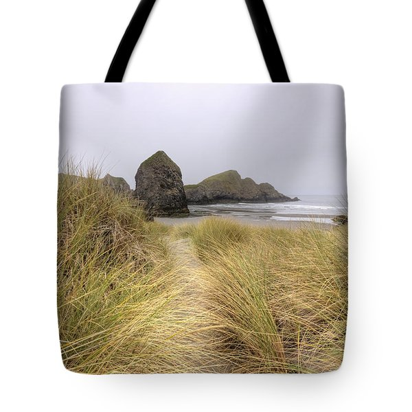 Grassy Dunes Tote Bag by Kristina Rinell