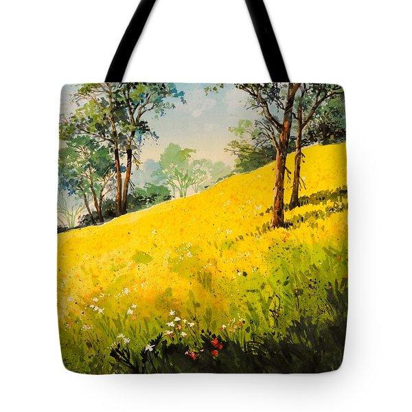 Grassy Hillside II Tote Bag