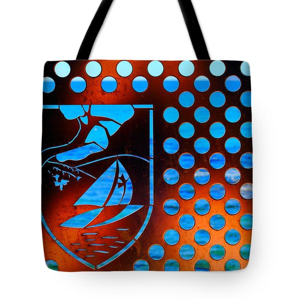 Tote Bag featuring the photograph Grate View by Richard Patmore