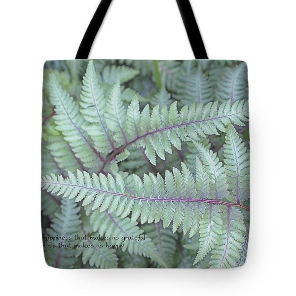 Grateful Tote Bag by Catherine Alfidi