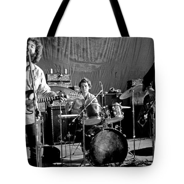 Grateful Dead In Concert - San Francisco 1969 Tote Bag