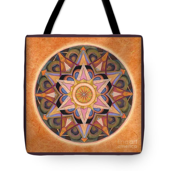 Gratitude Mandala Tote Bag