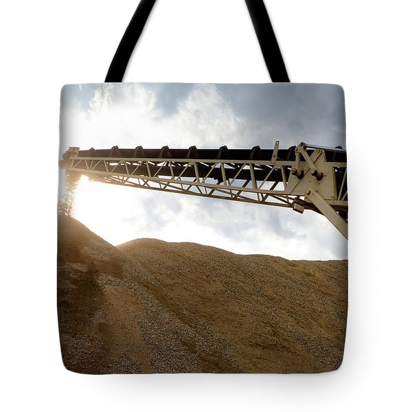 Gravel Mountain 2 Tote Bag