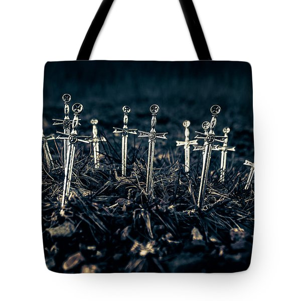 Gravely Battlefield Tote Bag