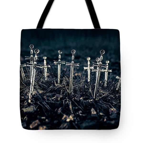 Gravely Battlefield Tote Bag