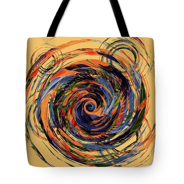 Gravity In Color Tote Bag