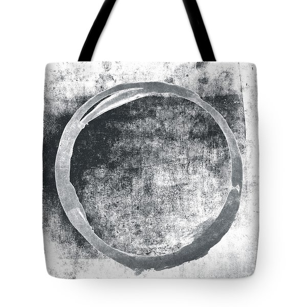 Gray Enso Tote Bag