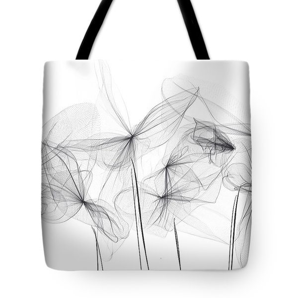 Grayish Spring - Modern Art Tote Bag