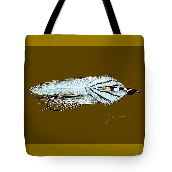 Gray Ghost Tote Bag by Jean Pacheco Ravinski