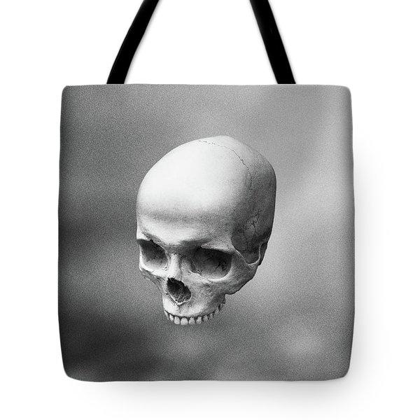 Gray Levity Tote Bag