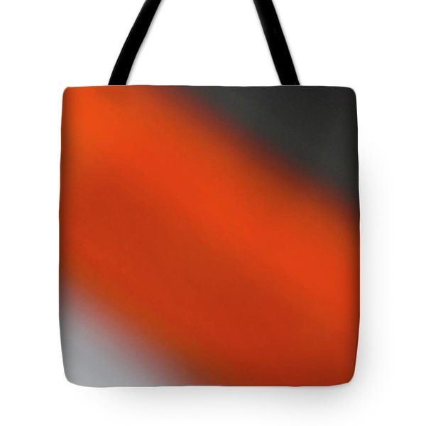 Gray Orange Grey Tote Bag