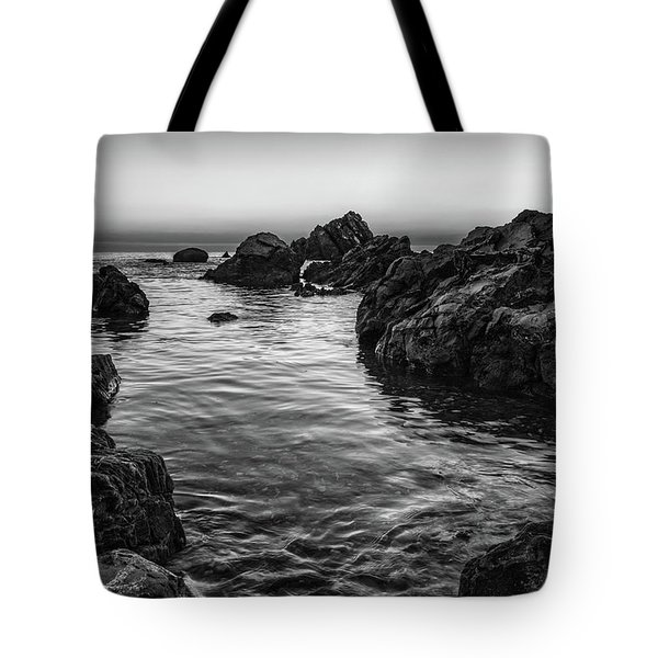 Gray Waters Tote Bag