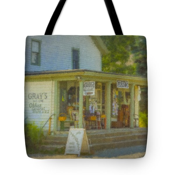 Gray's Store In Little Compton Rhode Island Tote Bag