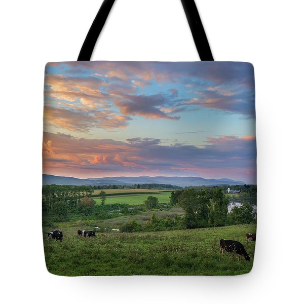 Grazing At Sunset Tote Bag