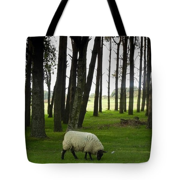 Grazing In The Woods Tote Bag