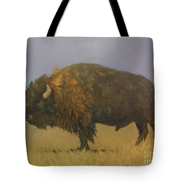 Great American Bison Tote Bag
