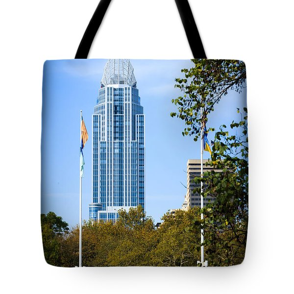 Great American Tower Tote Bag by Keith Allen