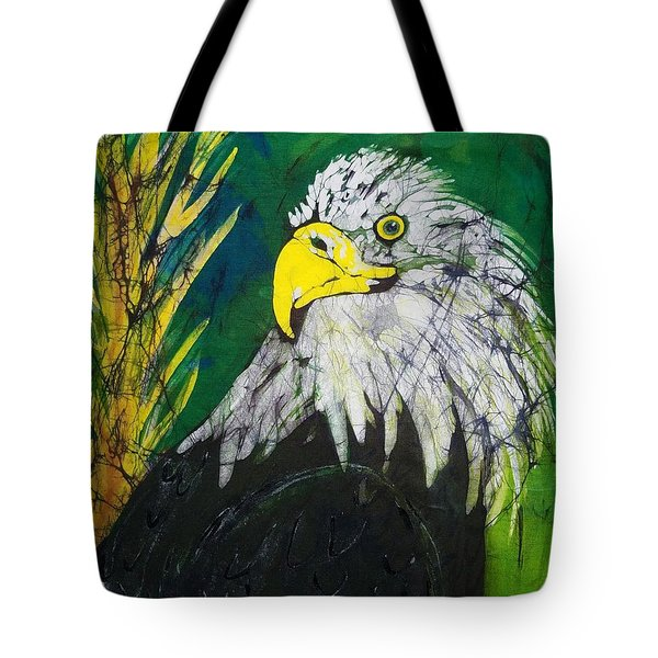Great Bald Eagle Tote Bag